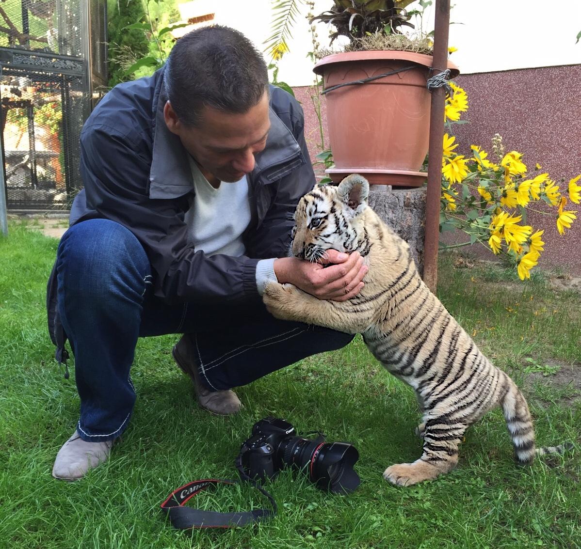 Bernau: Wir haben heute mal bei Findel-Tiger Diego vorbei geschaut