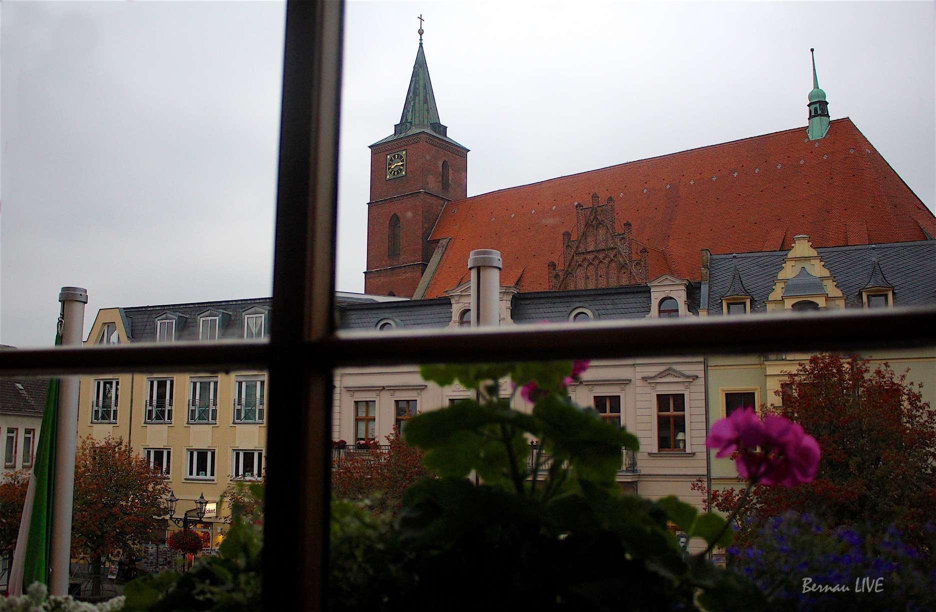 Bernau: Rathaus Bernau bei berlin