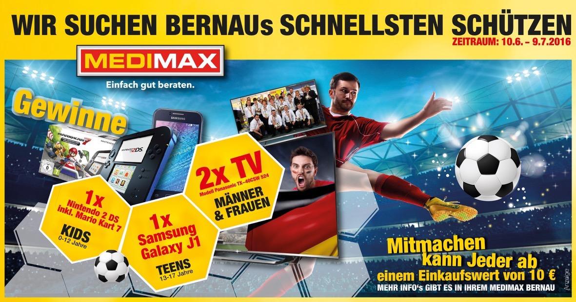 MEDIMAX Fussball EM Wochen