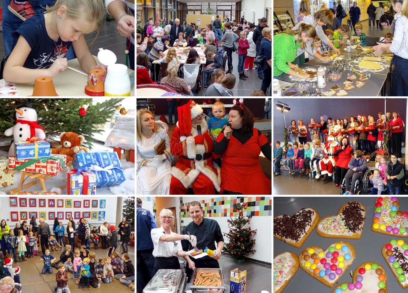 Weihnachtsfeier Mitarbeiter.Schöne Sache Weihnachtsfeier Für Mitarbeiter Kinder Im Helios