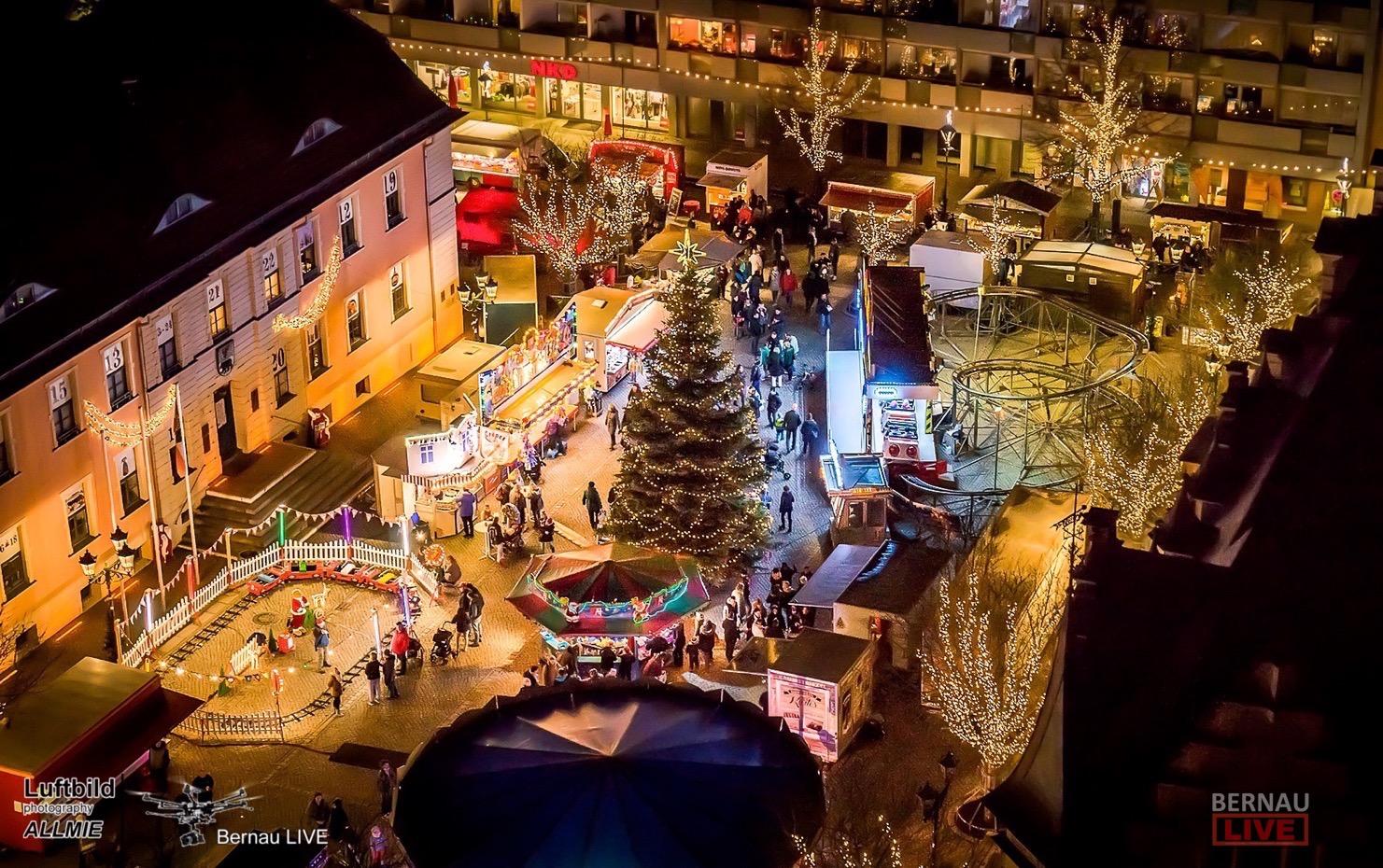Weihnachtsmarkt Bernau heute noch bis 21 Uhr geöffnet