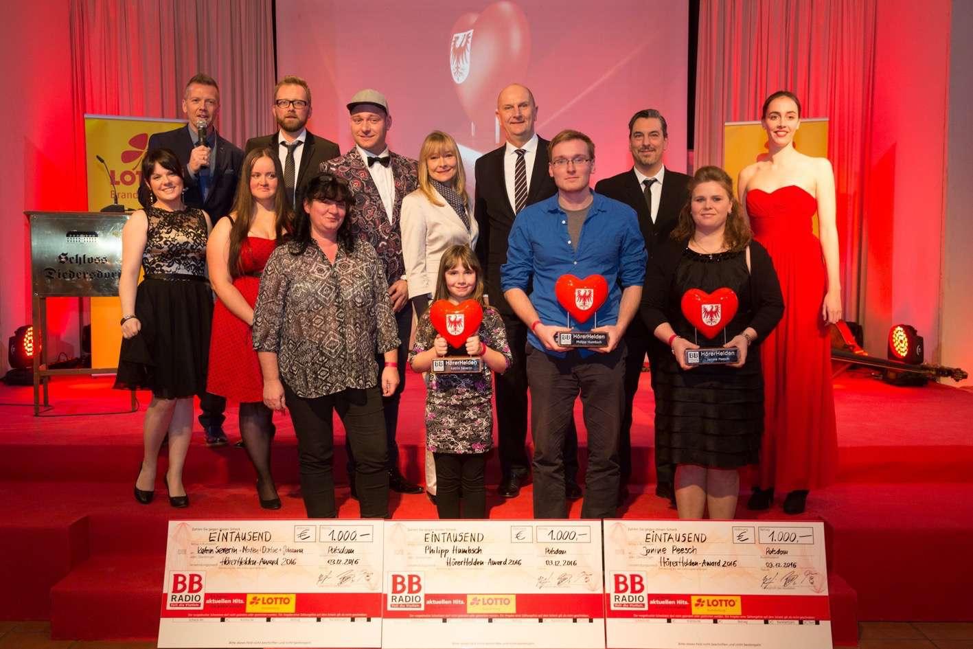 BB Radio: Tag des Ehrenamts - Auszeichnungen durch Dietmar Woidke
