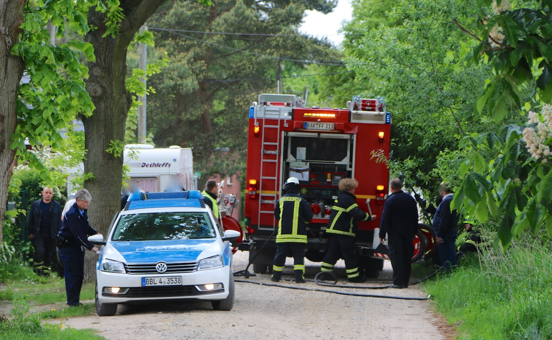 Photo of Feuerwehr Bernau: Das ging nochmal gut aus