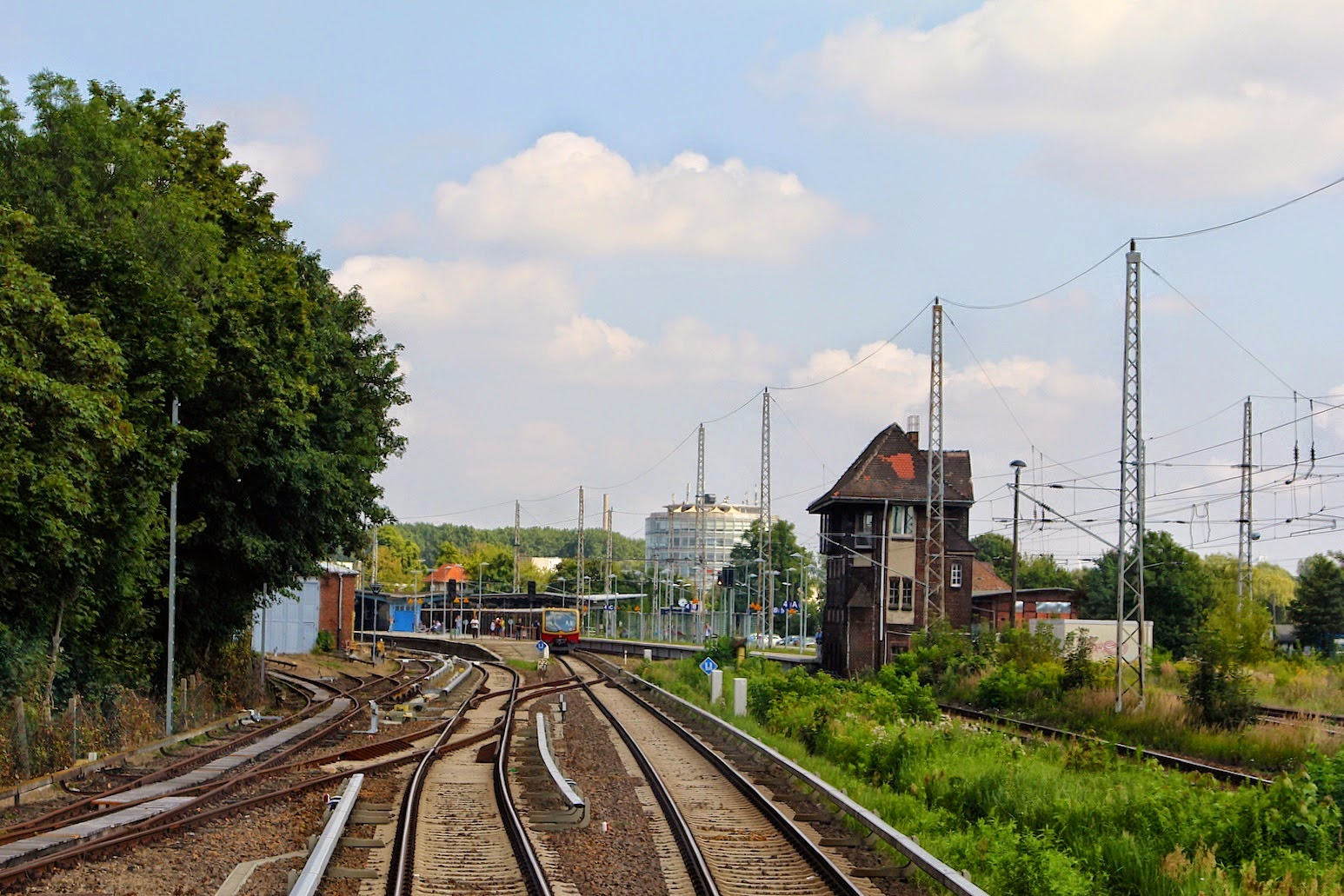 Bernau: Schienenersatzverkehr Bernau - Lichtenberg