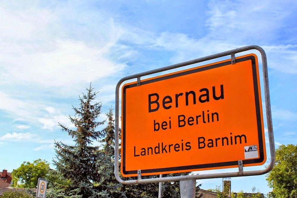 Ortsschild Bernau