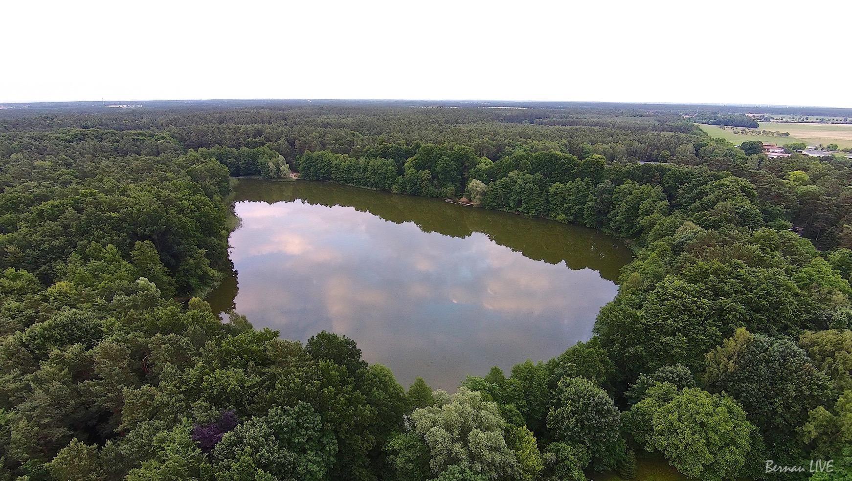 Uferwege am Mechesee wieder sauber - Frühjahrsputz in Lobetal