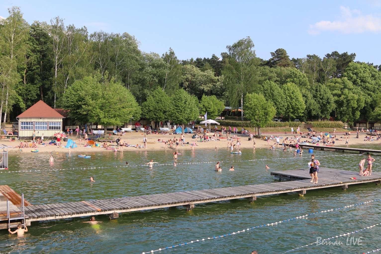 Wukensee, Biesenthal, Strandbad Wukensee, Sommer, Bernau LIVE