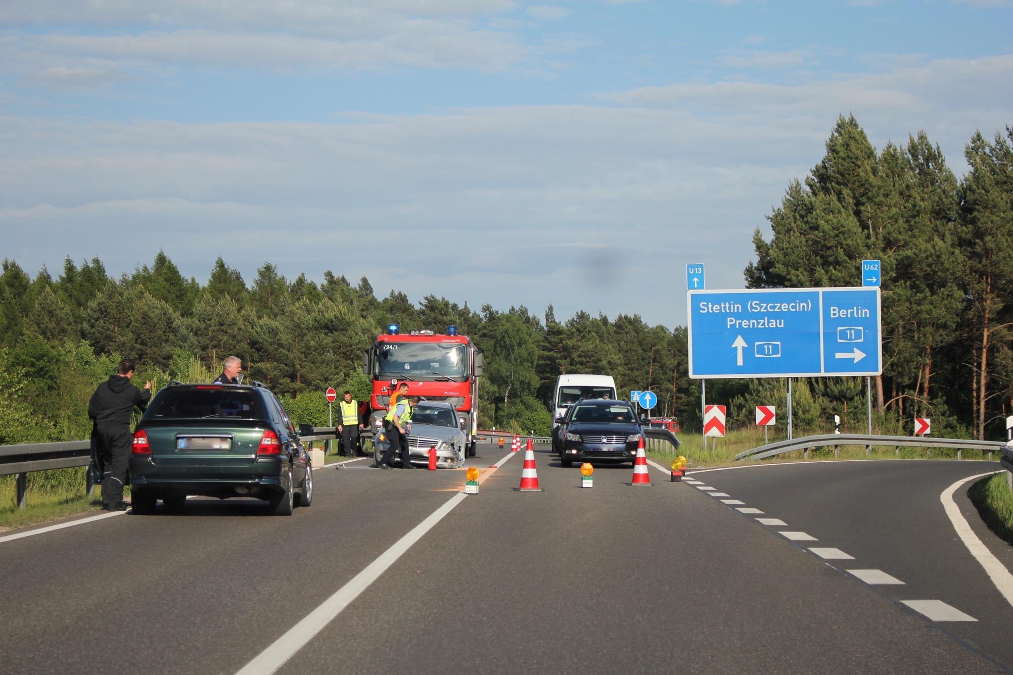 Photo of Bernau – Wandlitz: Nachtrag zum gestrigen Unfall mit Personenschaden