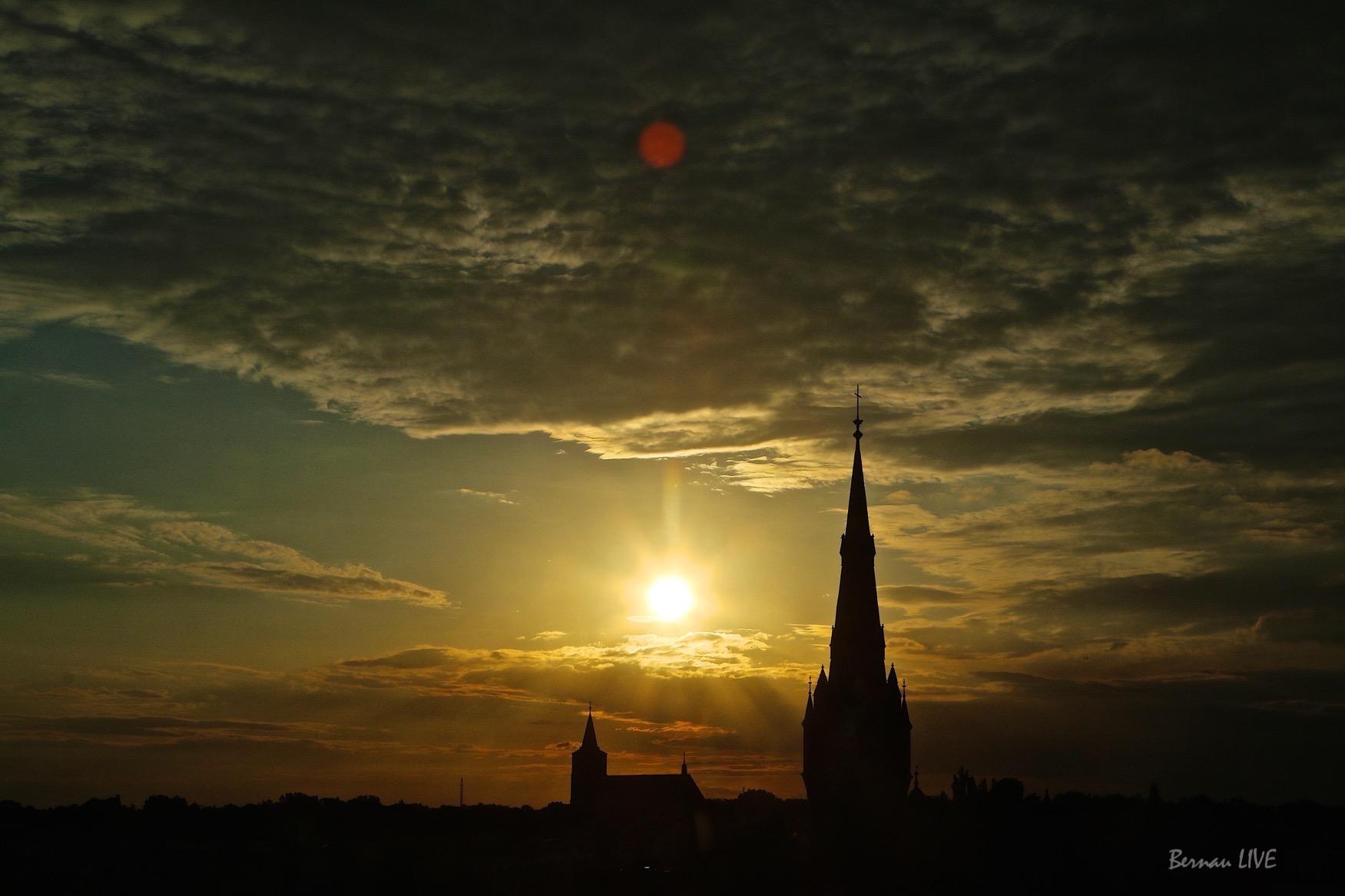 Photo of Bernau: Wolkenspiel am Bernauer Abendhimmel