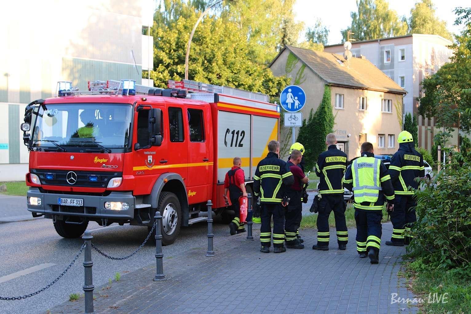 Bernau, Feuerwehr Bernau, Brand, Feuer, Rettungsdienst, Einsatz, Bernau LIVE