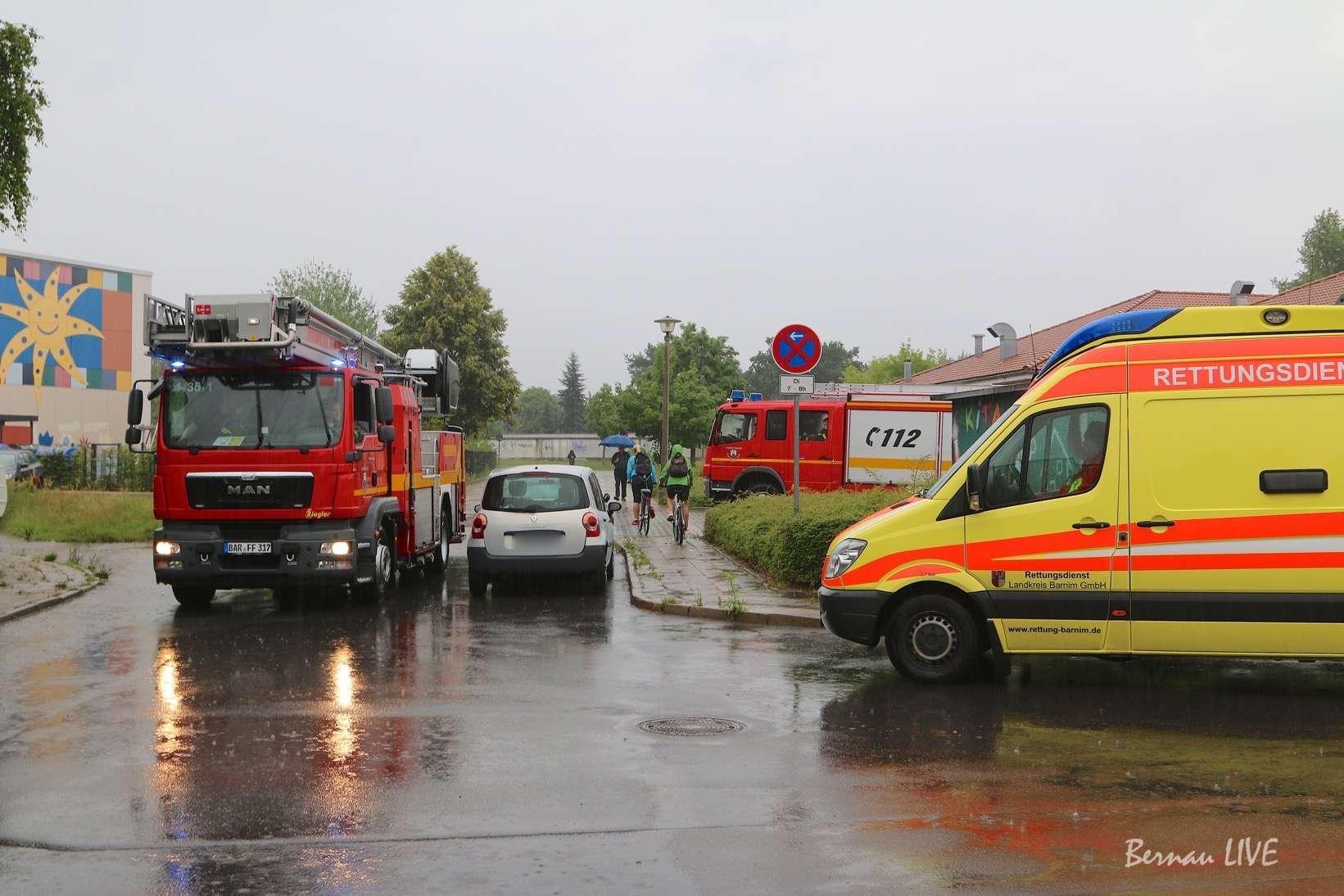 Photo of Grosseinsatz der Feuerwehr Bernau – Vorsicht auf den Strassen