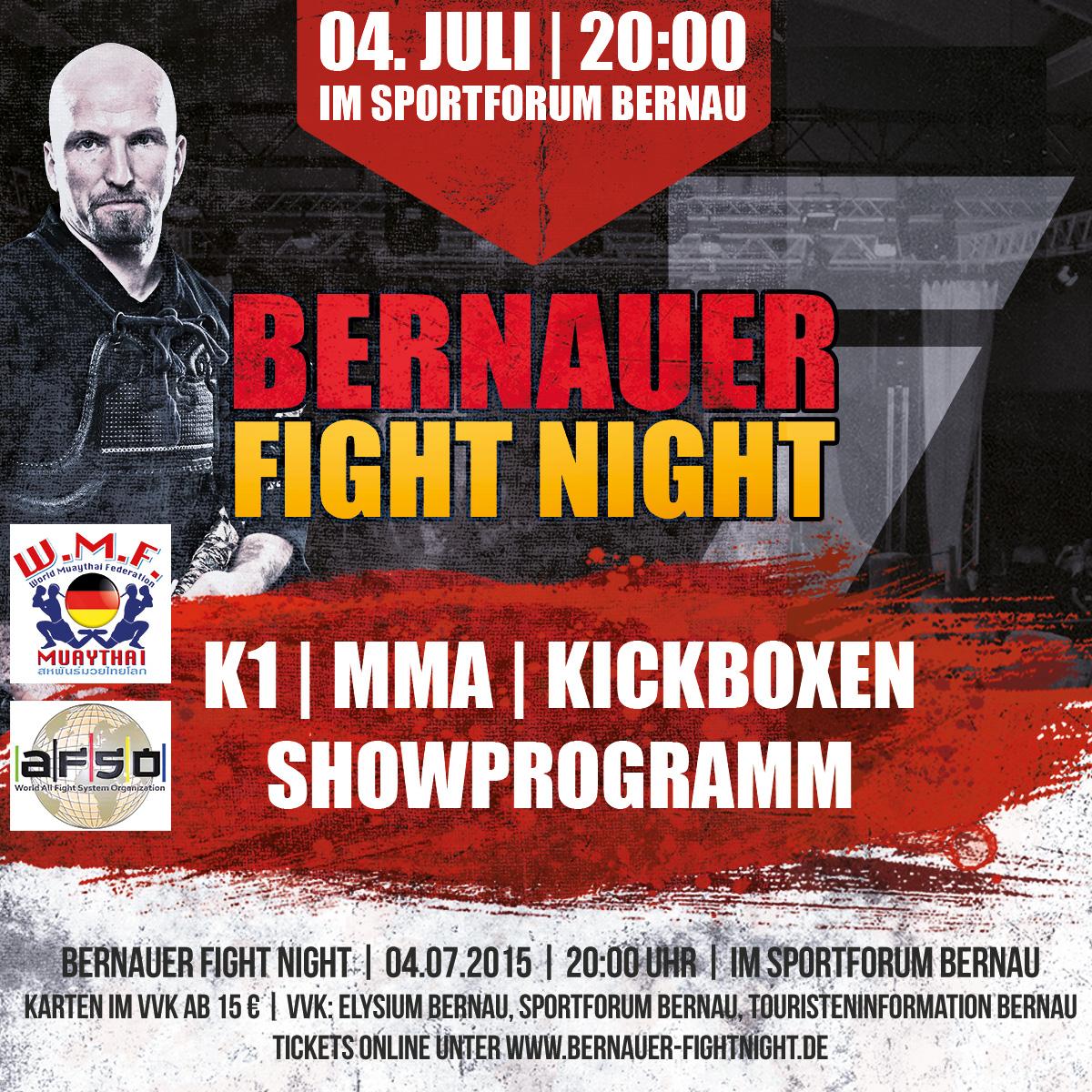 Photo of Bernauer Fight Night: Ring frei zur 7. Runde am 04. Juli
