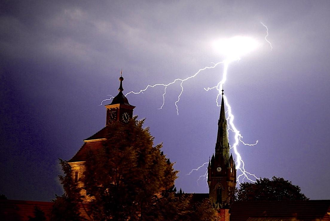 Landkreis Barnim: Amtliche Warnung vor Gewitter