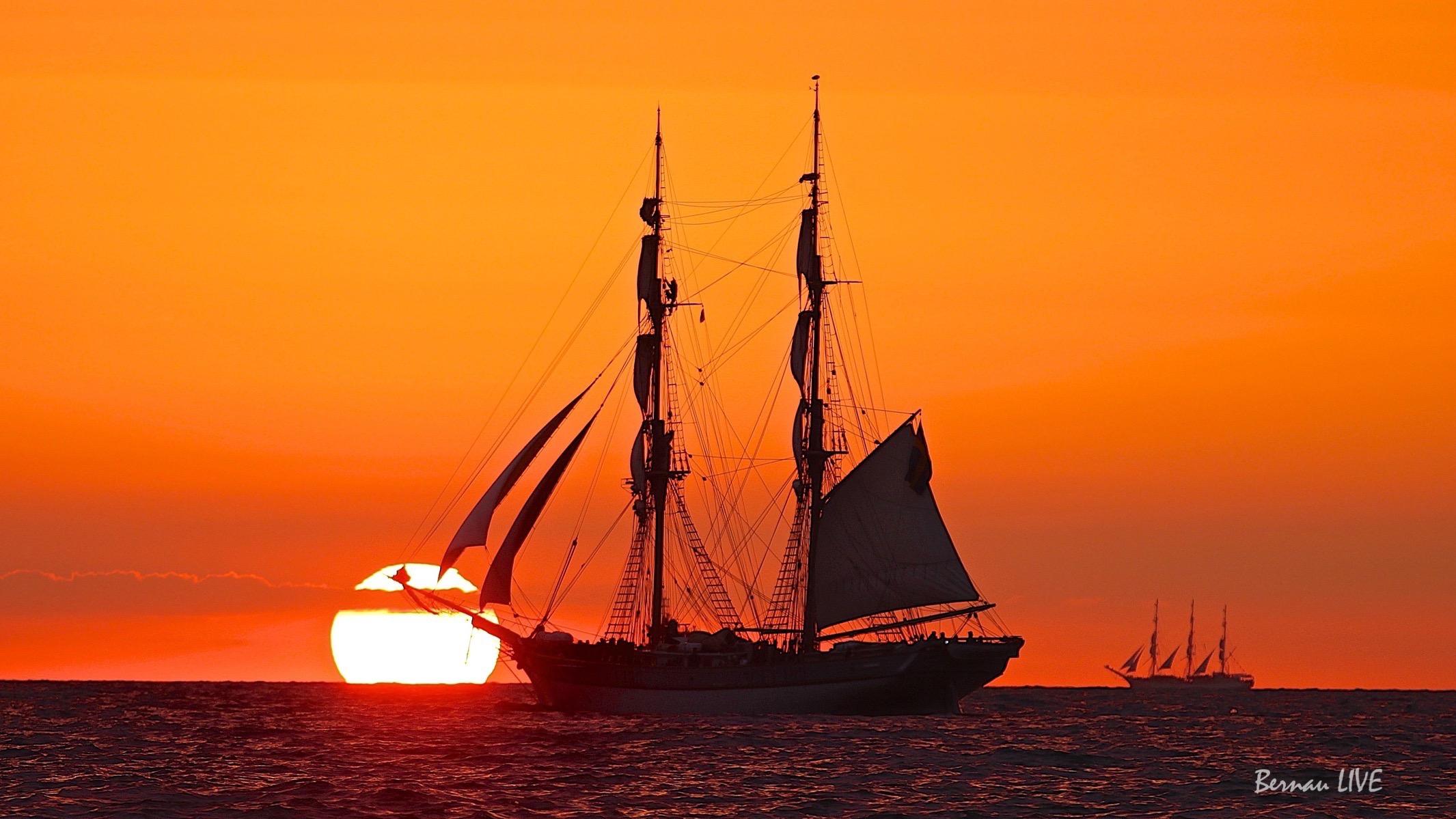 Bernau LIVE, Ostsee, Warnemünde, Hanse Sail, Rostock, Sonnenuntergang, Sommer, Barnim, Hanse Sail 2015, SpereePiX Media, Natur, Wetter, Sail, Schiff