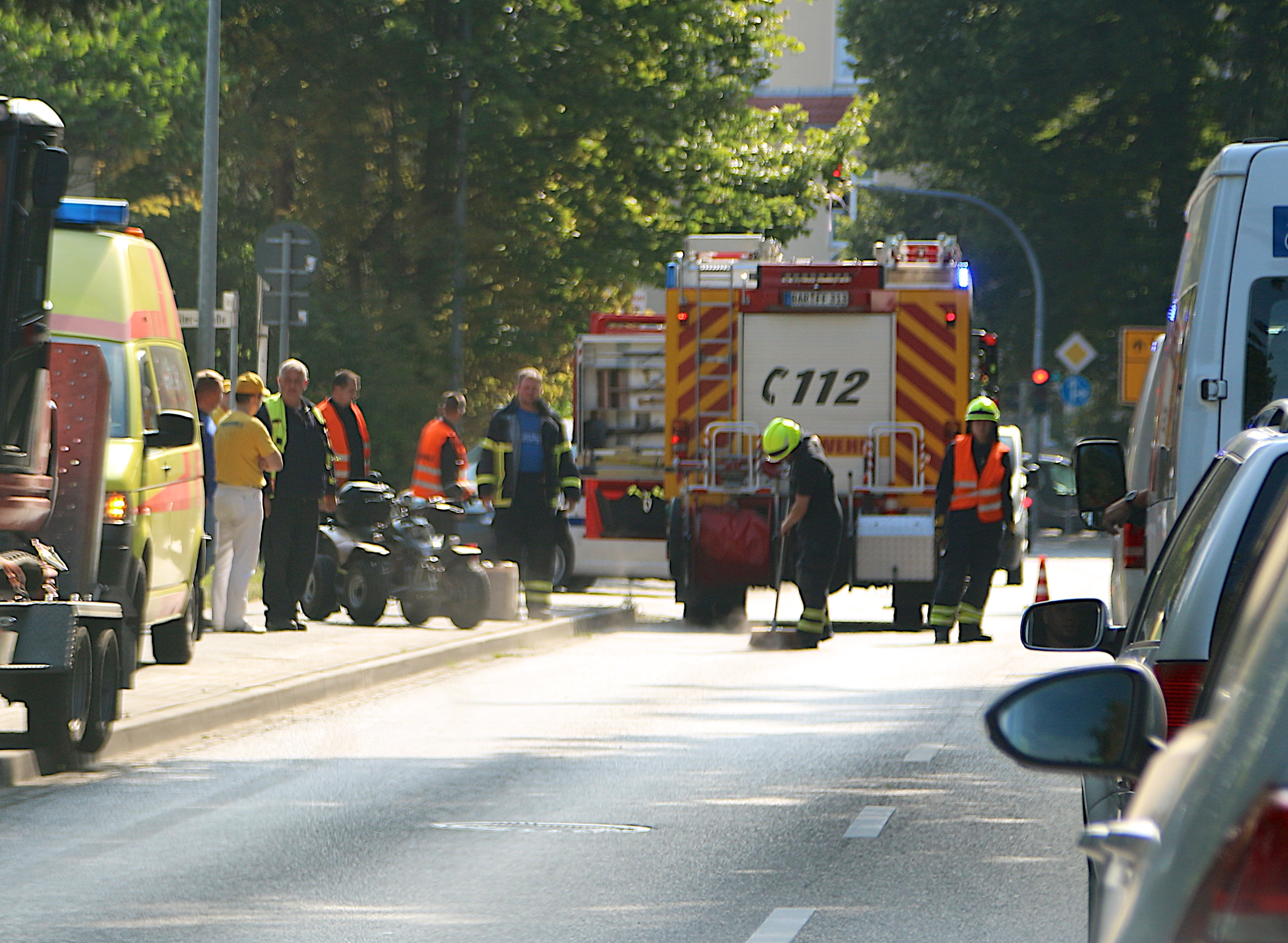 Verkehrsunfall Bernau, Quad überschlagen, Bernau, Bernau LIVE, News Bernau, Nachrichten Bernau, Feuerwehr Bernau