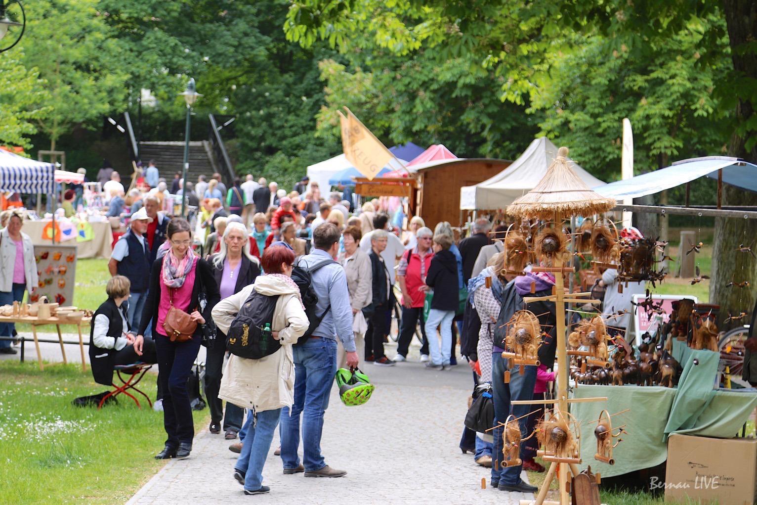 30. August: Kunst- und Handwerkermarkt in Bernau