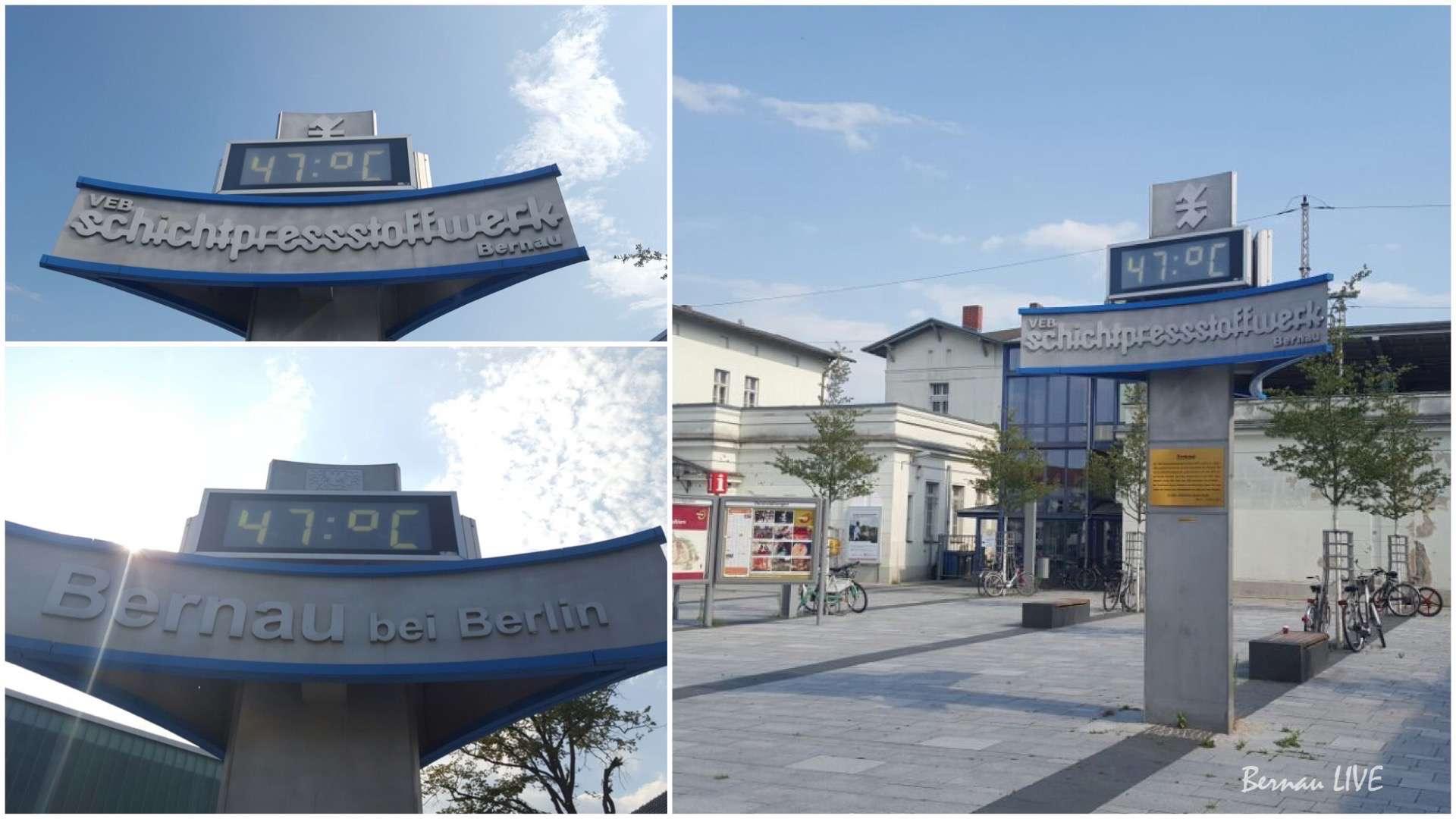 Sommer, bernau, Bernau LIVE, Barnim, Bahnhof Bernau, Wetter
