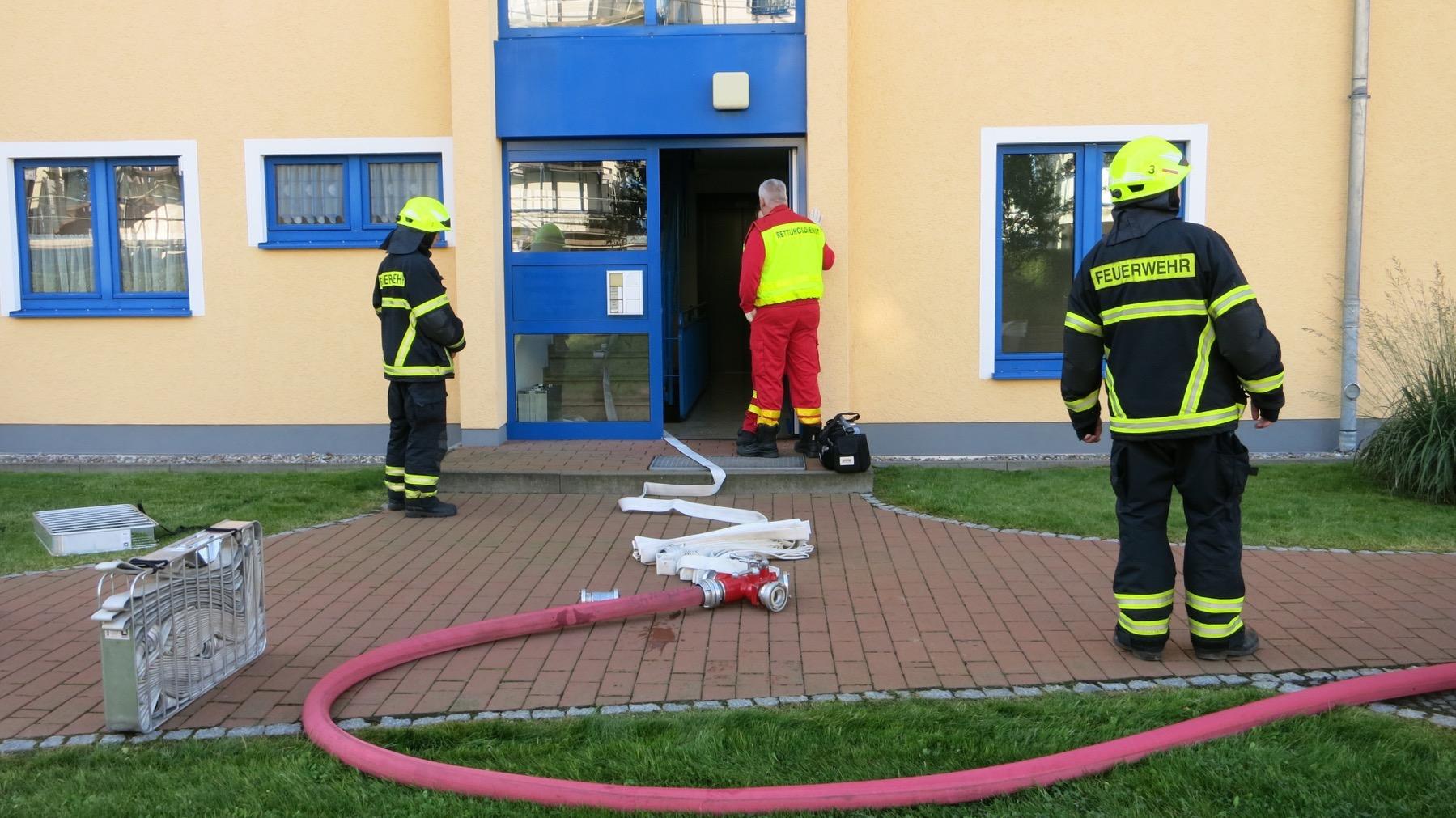 Photo of Bernau: Feuerwehreinsatz An der Tränke in Bernau