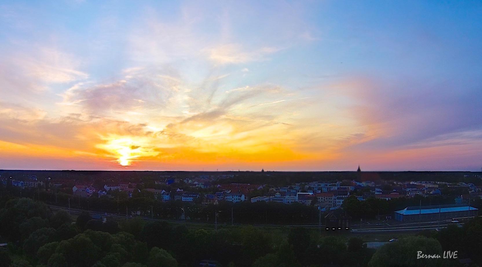 Photo of Liebe Grüße aus Bernau und einen schönen Abend