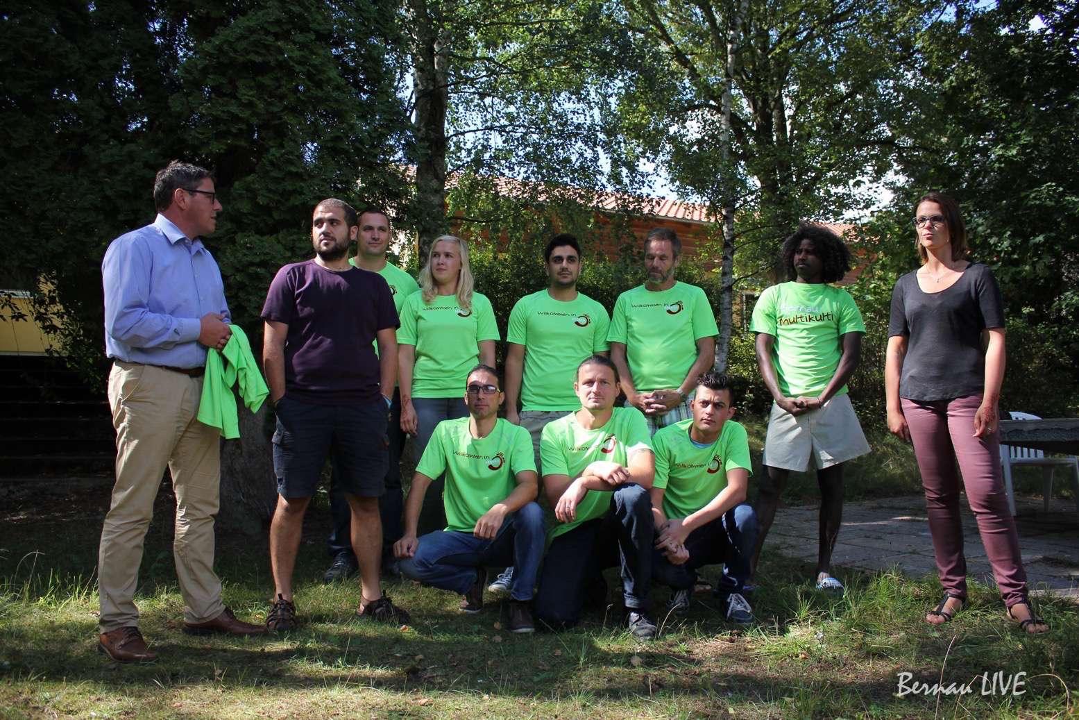 Bernau: Trikots an Bernauer Läuferteams übergeben • Bernau LIVE