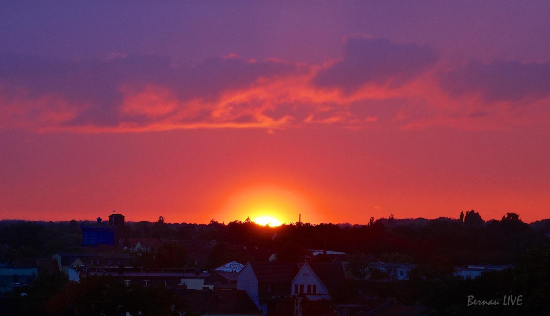 Photo of Bernau: Ein bisschen Sonne zum Abend