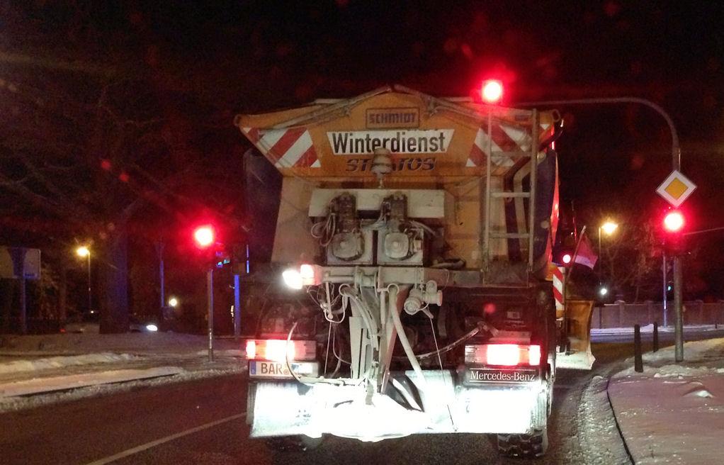 Stadt Bernau mit kostenfreier Winterdienst-Hotline