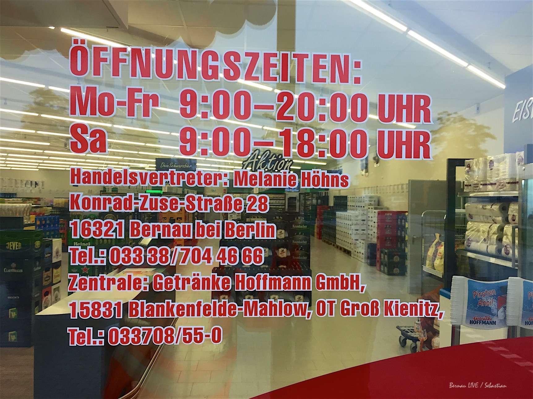 Neueröffnung Getränke Hoffmann - willkommen Bernau! • Bernau LIVE