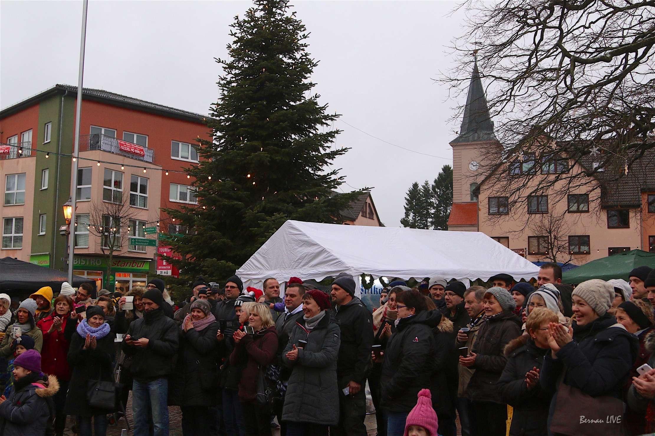 Weihnachtsmarkt in Biesenthal - Schön war´s • Bernau LIVE