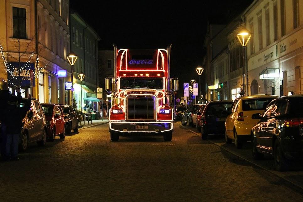 Coca Cola Weihnachtstrucks In Bernau Bei Berlin Bernau Live
