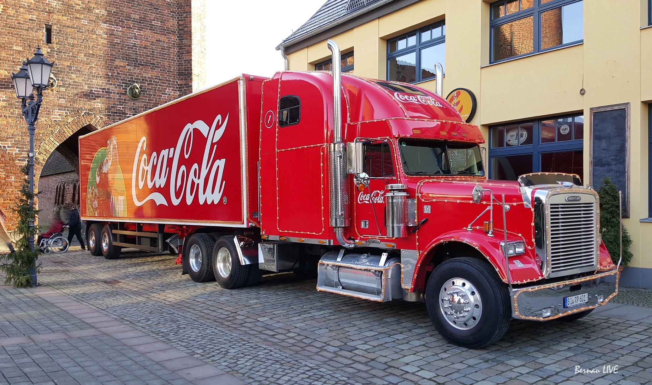 Coca Cola Weihnachtstour Willkommen In Bernau Bernau Live