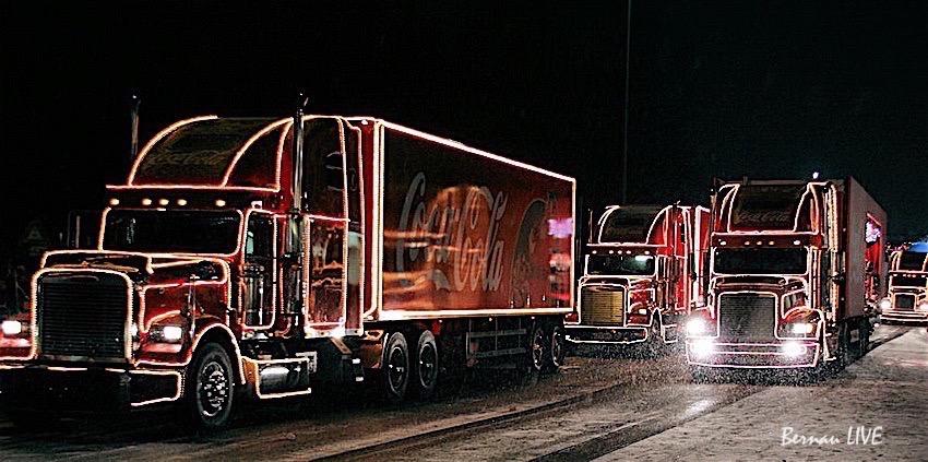 Coca Cola Weihnachtstrucks