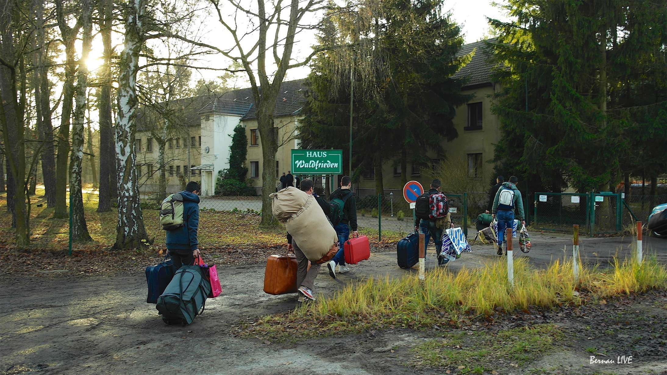 Flüchtlinge Bernau - Brandenburg