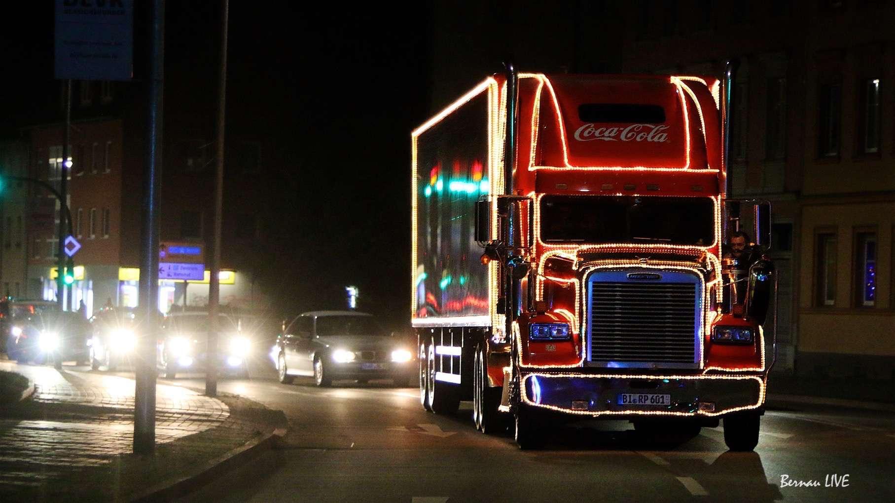Gute Nacht Mit Einer Fahrt Im Coca Cola Weihnachtstruck Video