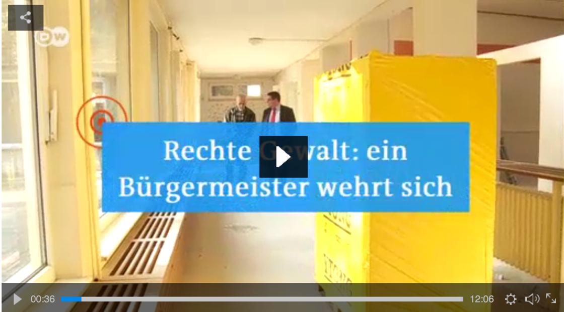 Bernau: Bürgermeister André Stahl wehrt sich gegen Neonazis