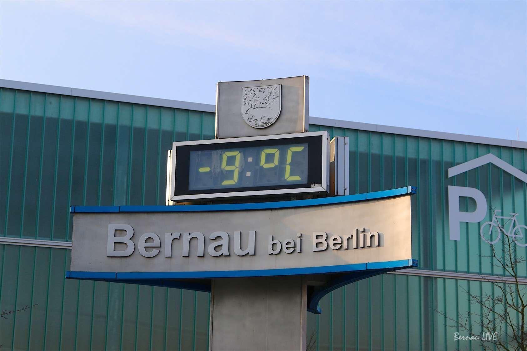 Bernau Bei Berlin Euch Einen Frostigen Guten Morgen