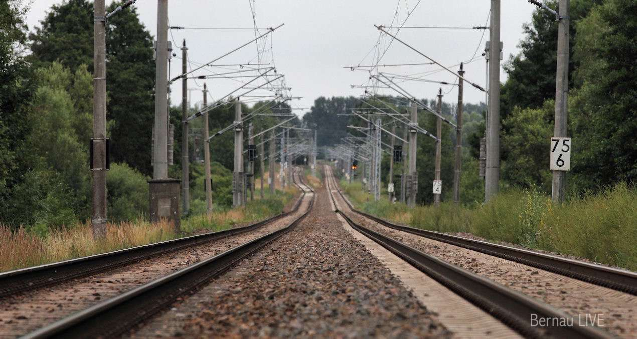 Bernau: Schienenersatzverkehr bei der Regionalbahn RE 3 und RB 24