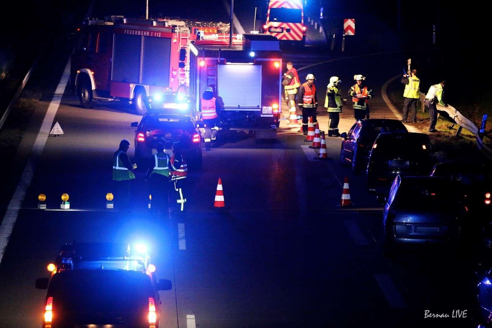 Bernau - Barnim: Idee der Feuerwehr wird umgesetzt - Markierungen auf Autobahnen