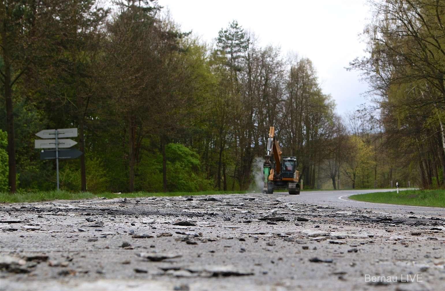 Bernau: Straßenausbau in Waldfrieden und Nibelungen ab 10. Oktober