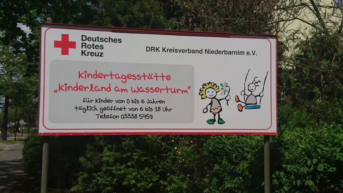 """Stellenangebot Bernau: Tag der offenen Tür im DRK Kindergarten """"Kinderland am Wasserturm"""" Bernau -"""