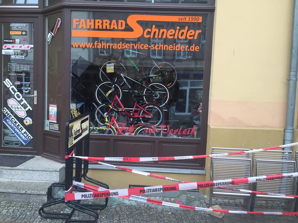 """Einbruch bei """"Fahrrad Schneider"""" in Bernau"""