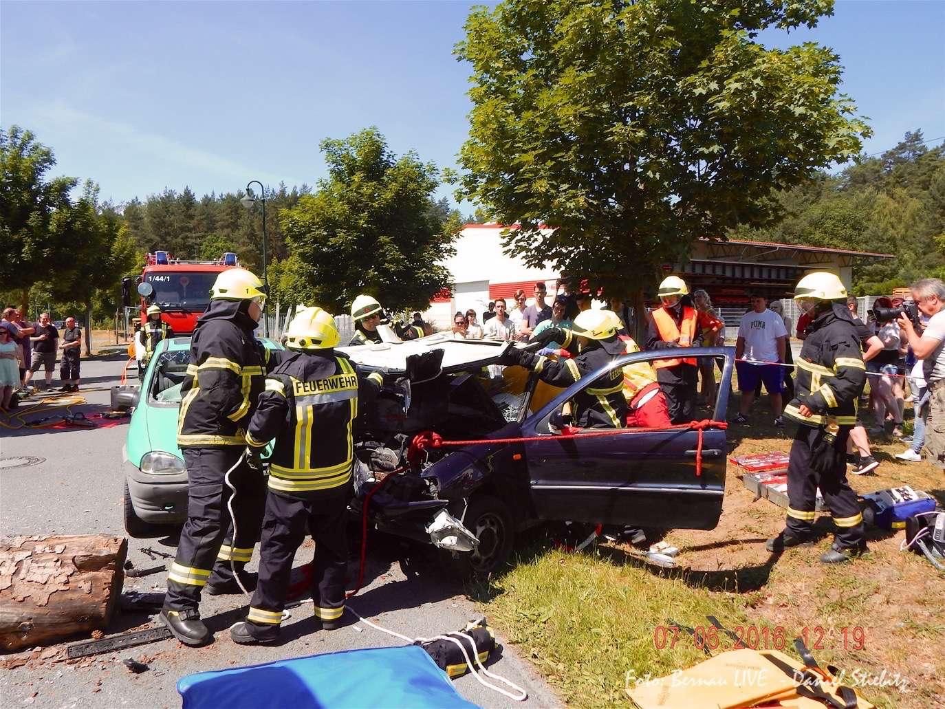 Verkehrssicherheitstag am OSZ Barnim in Bernau