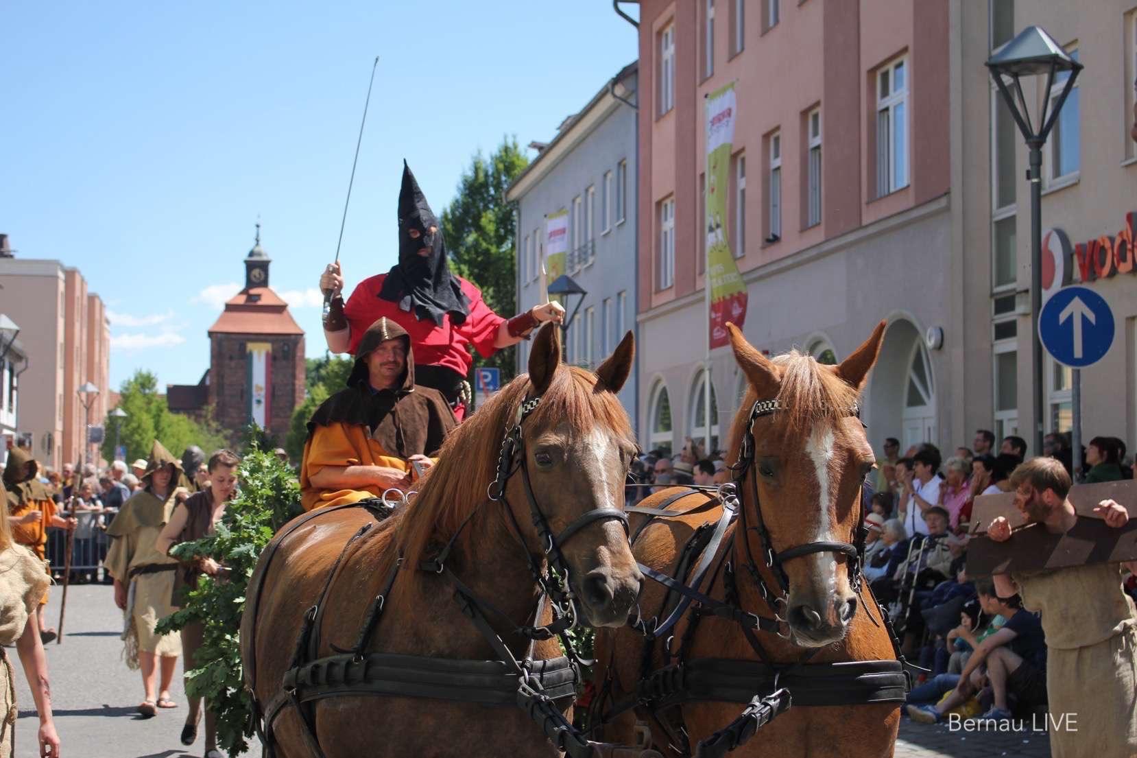 Hussitenfest Bernau: Infos, Programmhefte- und Flyer