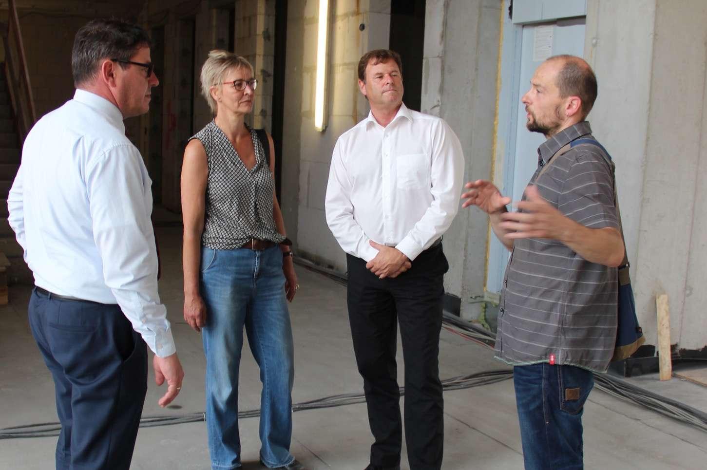 Finanzminister Christian Görke auf Arbeitsbesuch in Bernau
