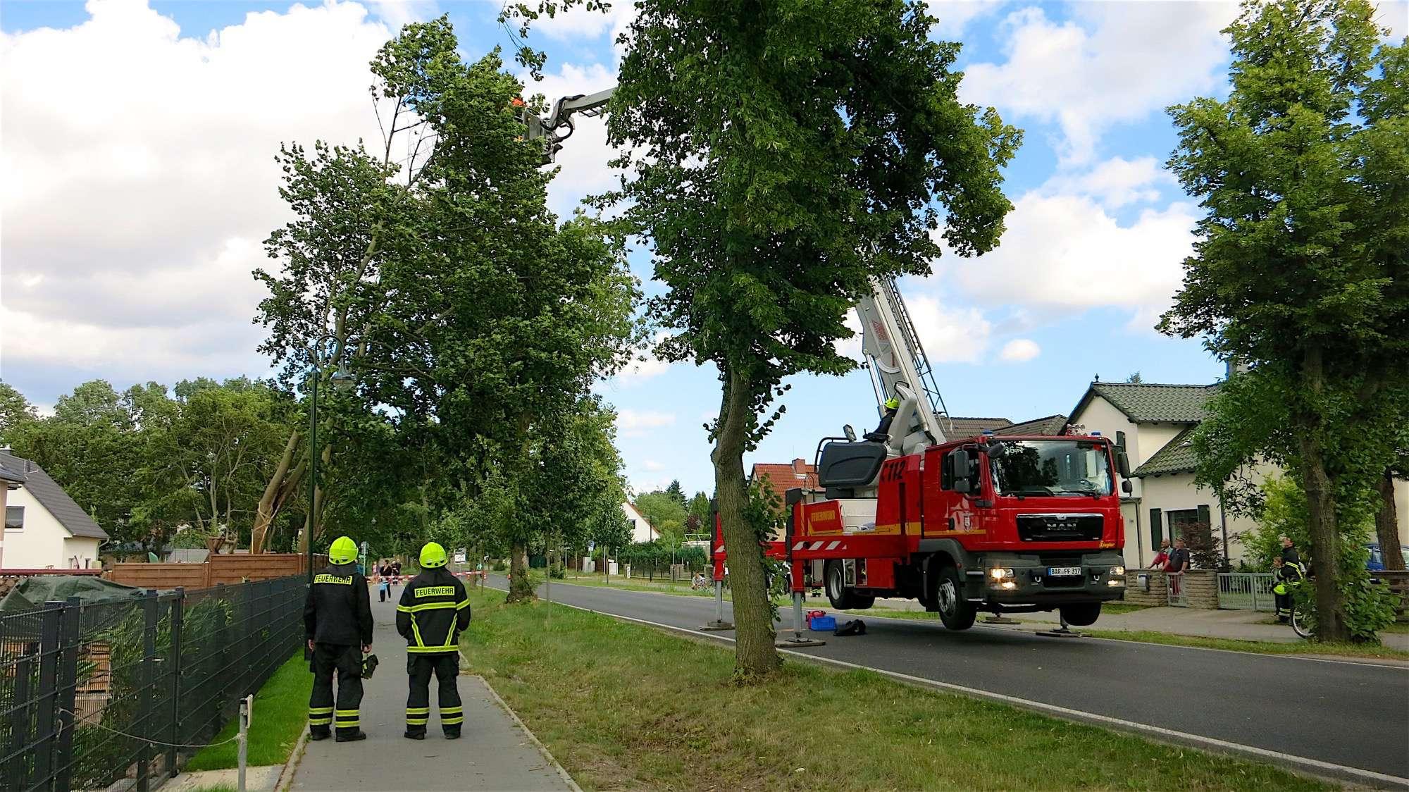 Verkehr Bernau: Börnicker Chaussee voll gesperrt!