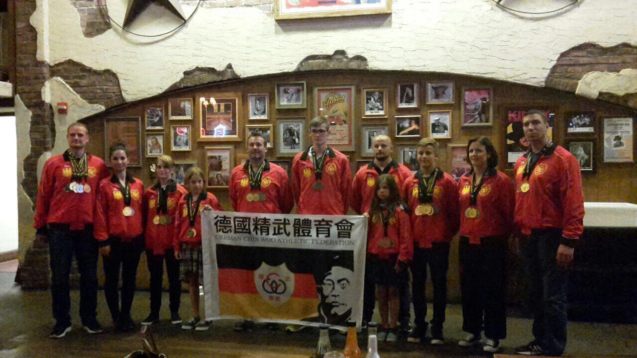 Bernau: Goldregen bei der Ching Woo Kung Fu WM in Dallas • Bernau LIVE