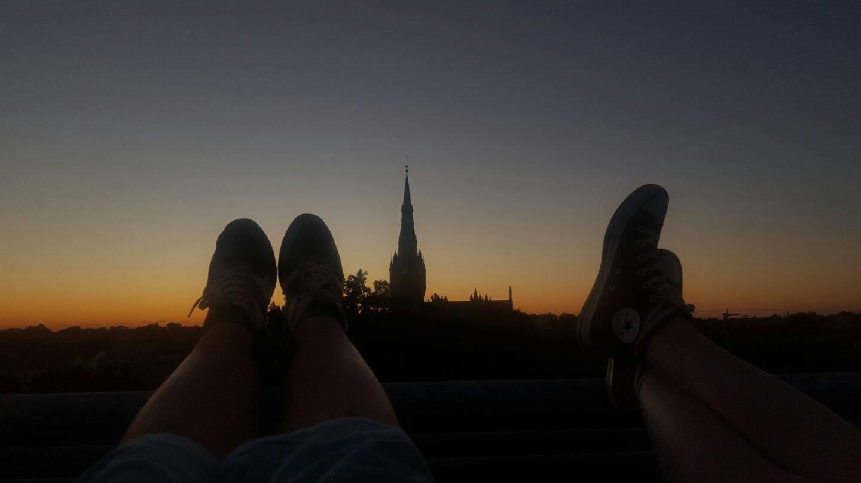 Bernau: Den Sonnenuntergang mit der allerbesten Freundin genießen ...
