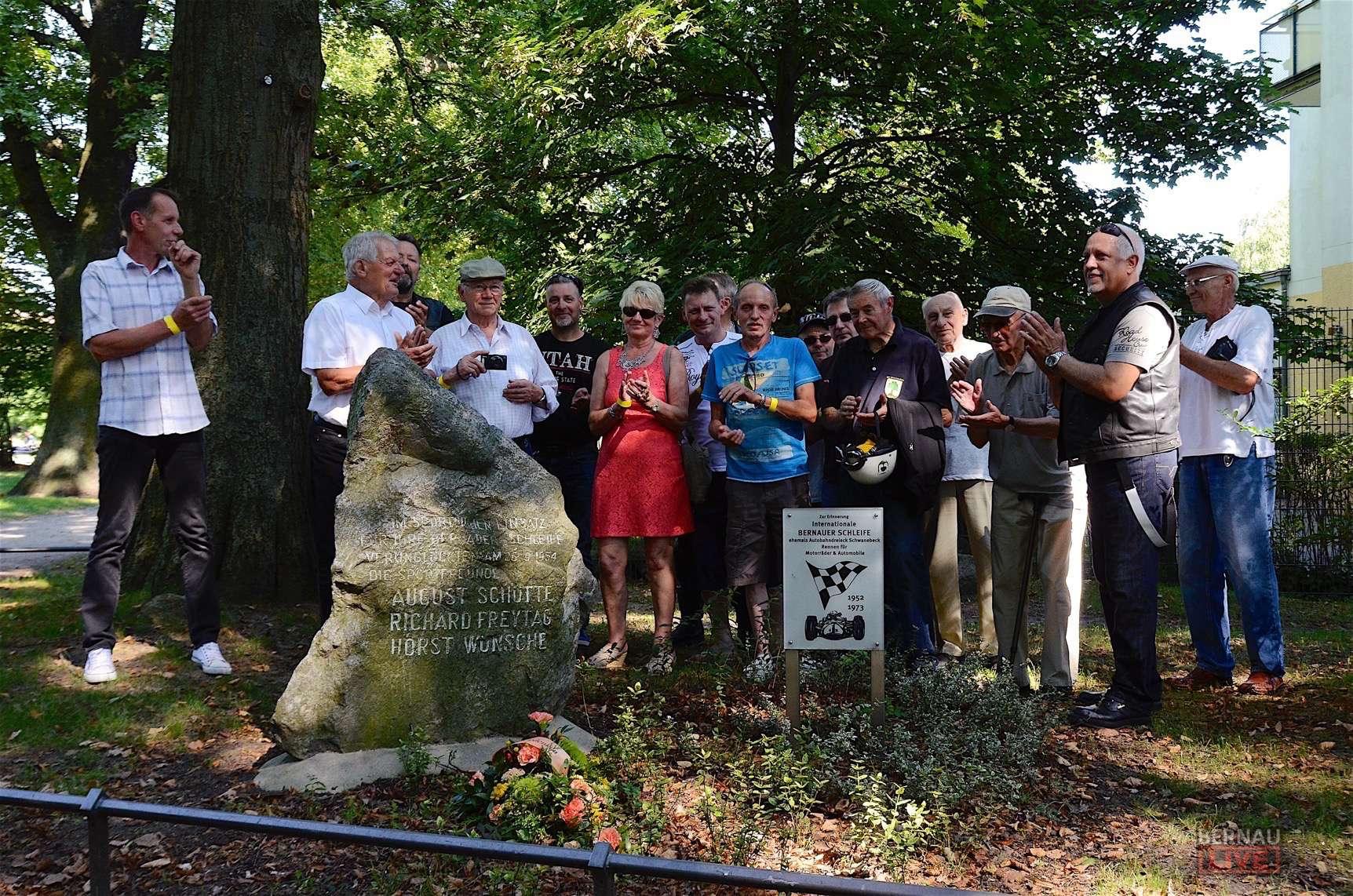 Road House Bernau: Gedenken an die Bernauer Schleife