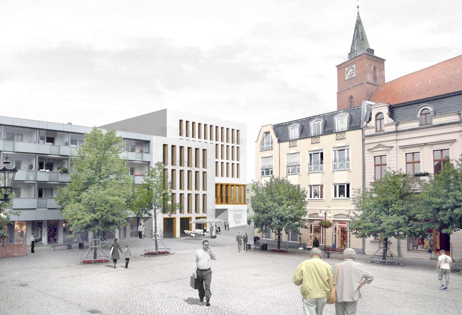 Rathaus Bernau: Rathausneubau
