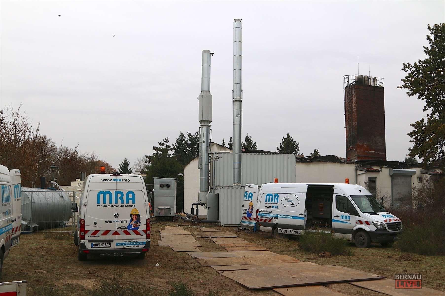 Bernau - Friedenstal: Ende gut, alles Gut - Neues Heizkraftwerk geht in Betrieb