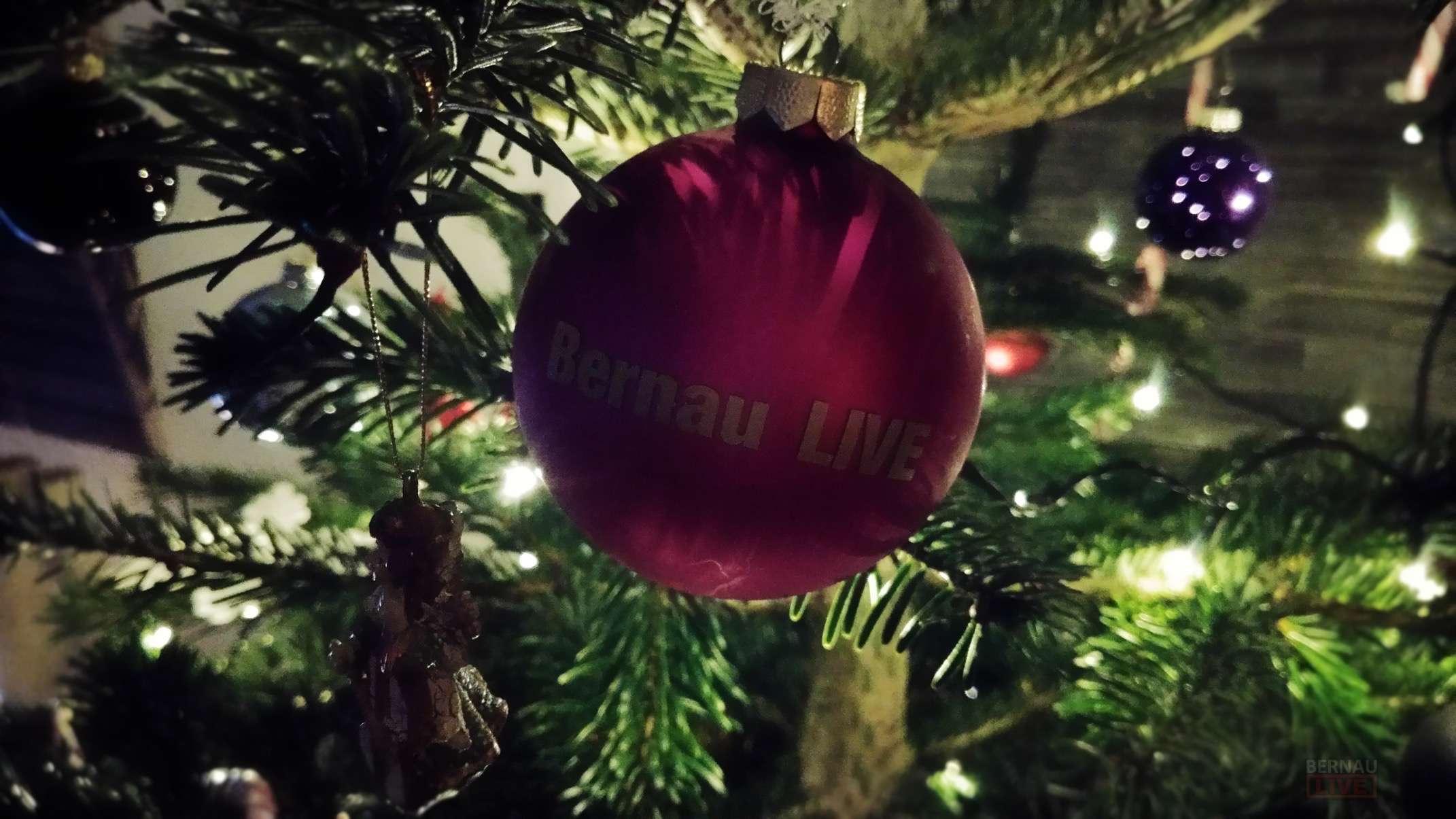 Bernau LIVE wünscht allen schöne und besinnliche Weihnachten ...